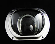 80x140° Asymmetric Street Light Glass Lens for COB LED