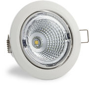 S102 3000K 60° 700lm IP23 LED Spot Light with White Cover
