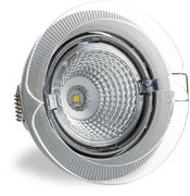 S100 3000K 40° 350lm IP23 LED Spot with Silver Grey Cover