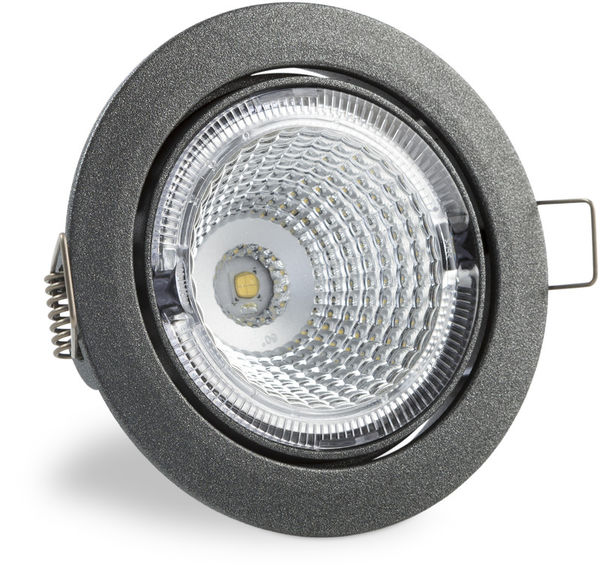 S102 4000K 60° 700lm LED Spot Light with Silver Cover
