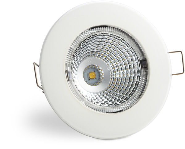 S100 3000K 60° 350lm IP55 LED Spot with White Cover