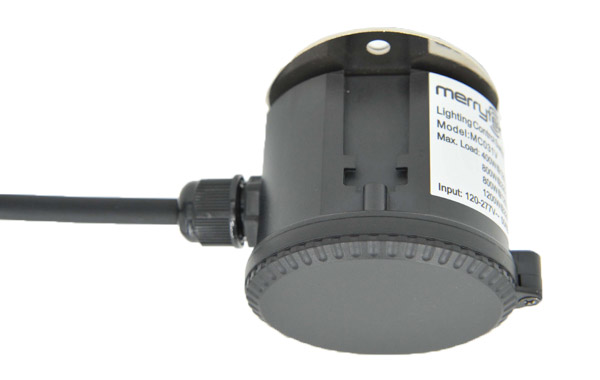 Dimmable IP65 Microwave Motion Sensor - Max Mounting Height 15 m
